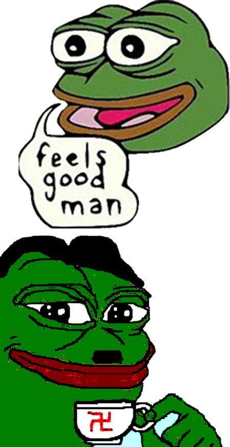 Original Pepe, alt-right Pepe